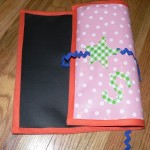 Project: Kid Friendly Portable Chalkboard Placemats