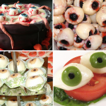 delicious eyeballs halloween party food recipes