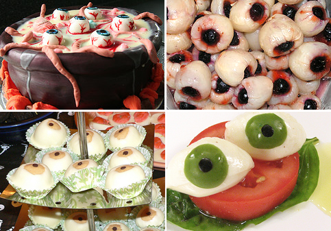 party food recipes food delicious eyeballs dabbled 30891