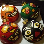 Vintage Inspired Halloween ornaments