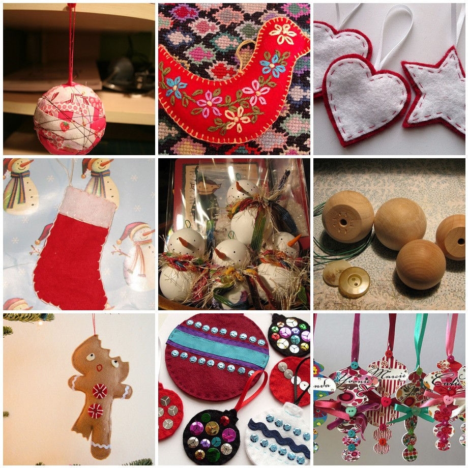 Bunches of Christmas Ornaments, many with Tutorials – Dabbled
