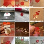 How to Make a Lovely Eco-Friendly Disc Bracelet