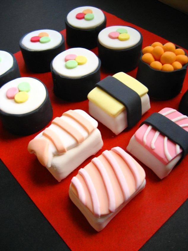 Sushi Diaper Cake Ideas
