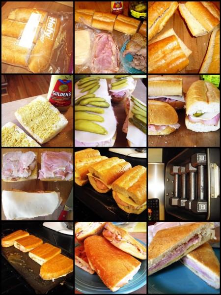 Making Cuban Sandwiches