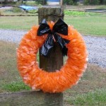 Halloween Guest Post: Recycled Halloween Wreath