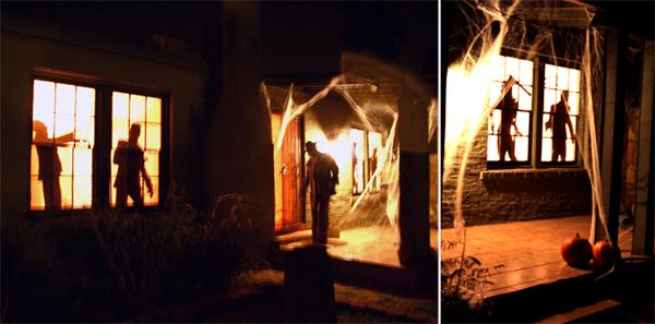 Halloween Decor House Zombies And Creepy Cherubs Dabbled