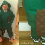 Agent P! The Boy's Perry the Platypus costume