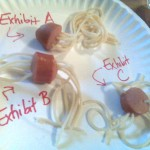 experiments in hotdog noodles - dabbled .org