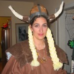 Homemade Viking - Love the horns