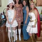 Bo Peep, 60s Girl, 70s Stewardess, She-Ra