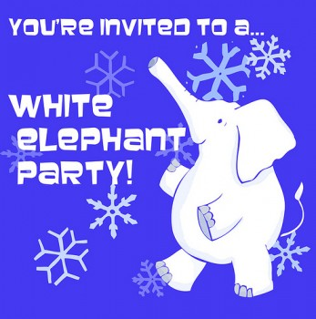 White Elephant Party - Downloadable invitation