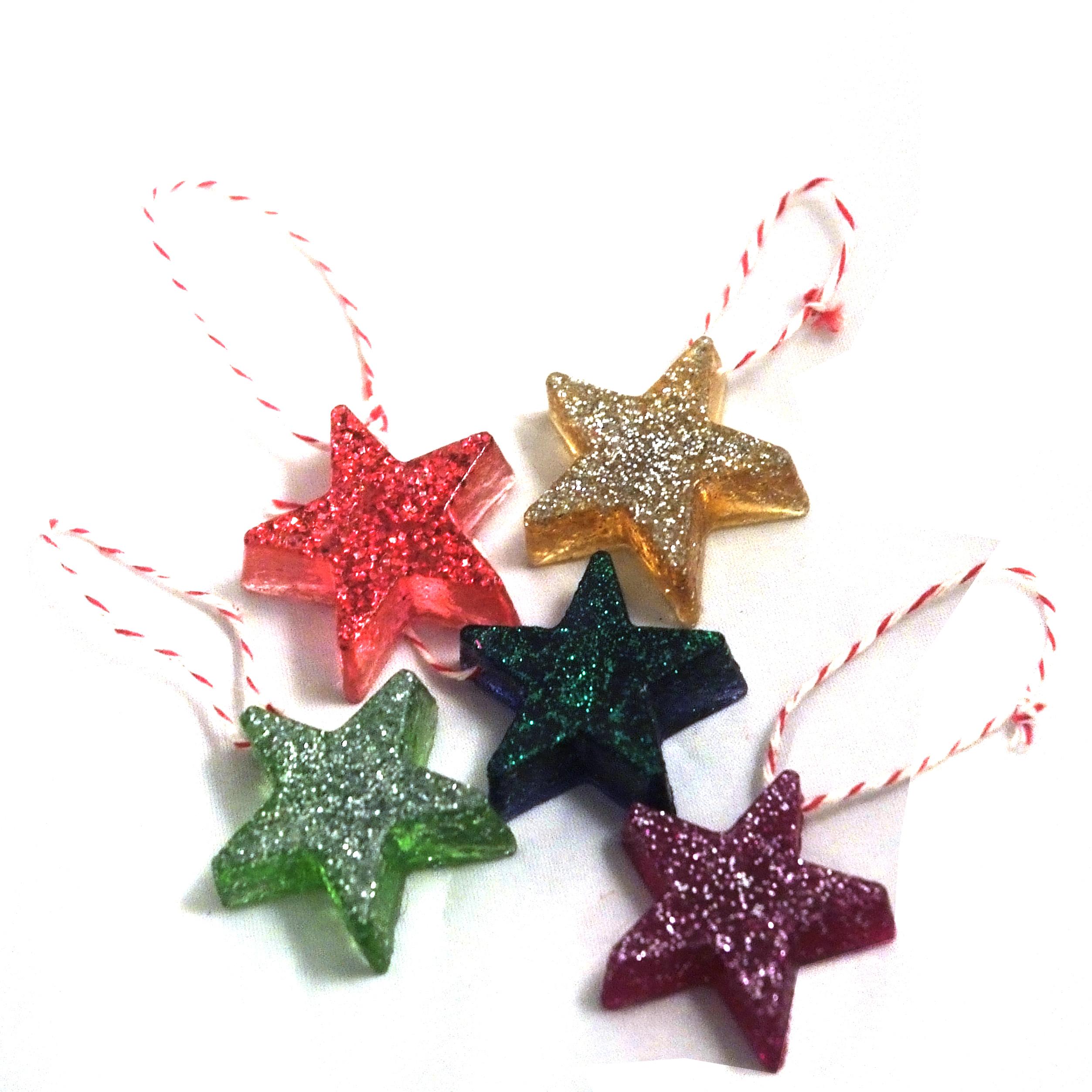 Material Christmas Tree
