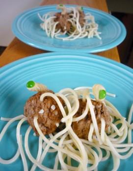 Flying Spaghetti Monster! Yum!