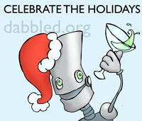 Robot Santa Holiday