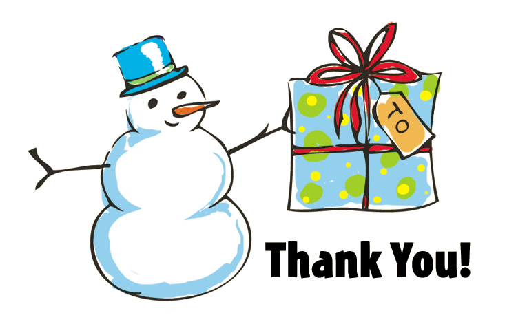 Download: Printable Holiday Thank You Note Template for ...