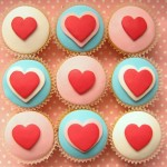 Make Valentines Day Cupcakes, from Hello Naomi!