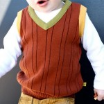 Boy's Sweater Vest (from a Man's Sweater) at MADE