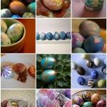 how to dye easter eggs - creatively