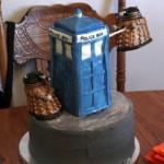 Way cool Dr. Who Tardis Cake!