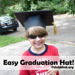 make a paper grad hat dabbled.org