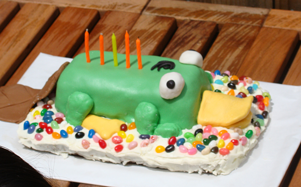 Perry The Platypus Cake Tutorial The Prep Work Dabbled