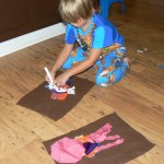 Quick Kids Activity - Cloth Scrap Creatures