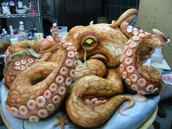 Octopus Cake by by Karen Portaleo/ Highland Bakery