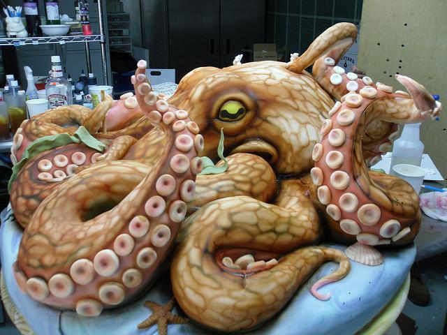 Octopus Cake By Karen Portaleo Highland Bakery