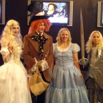 Alice in Wonderland group shot