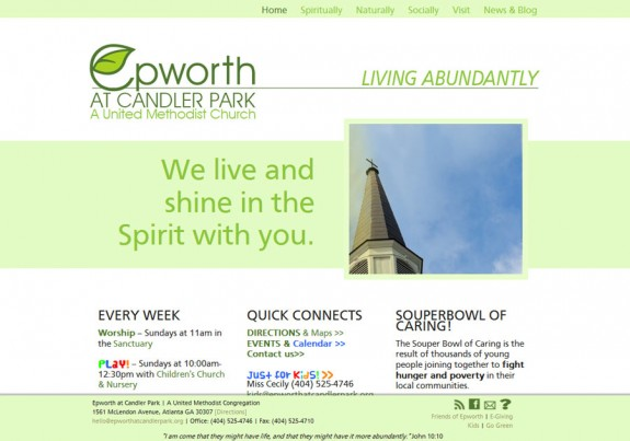 Epworth at Candler Park church