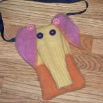 elepurse - kids purse made from sweaters