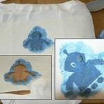 Freezer Paper Stencils - (Cute Training Pants!)