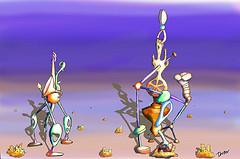 "Illustration Friday - ""Homage"""
