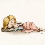 "Illustration Friday - ""Baby"""