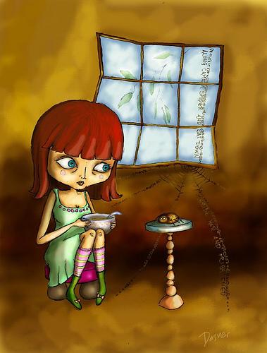 Little Miss Muffet - Latest in the Dark Nursery Rhyme series