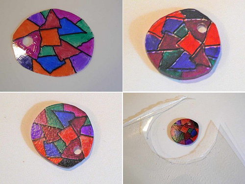 The 3rd Shrinky Dink experiment