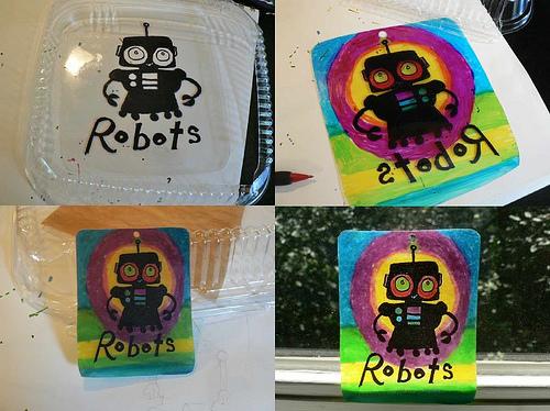 Robot Suncatcher