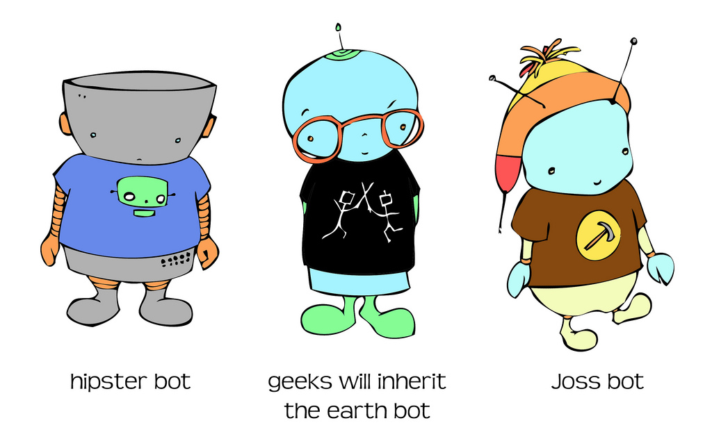 T-shirt Wearing Bots