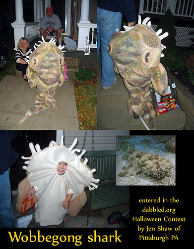 Wobbegong Shark Halloween Costume
