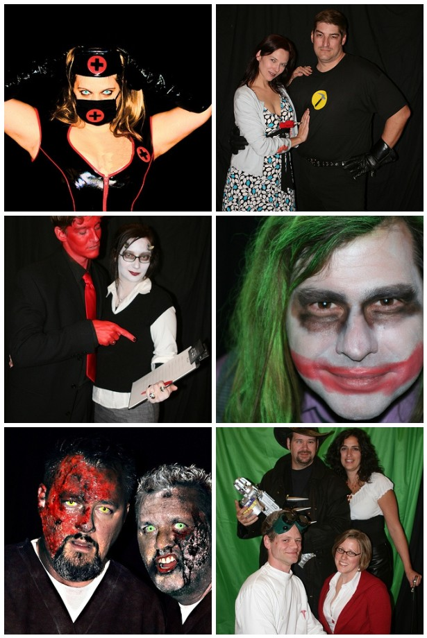 Halloween Costumes from the Party