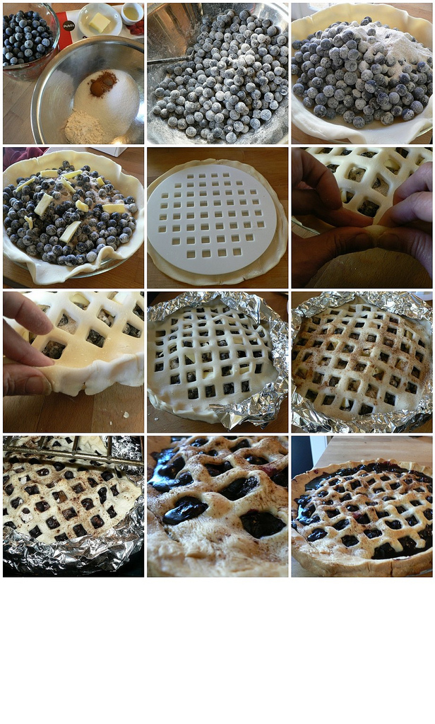 How to Make a Blueberry Pie