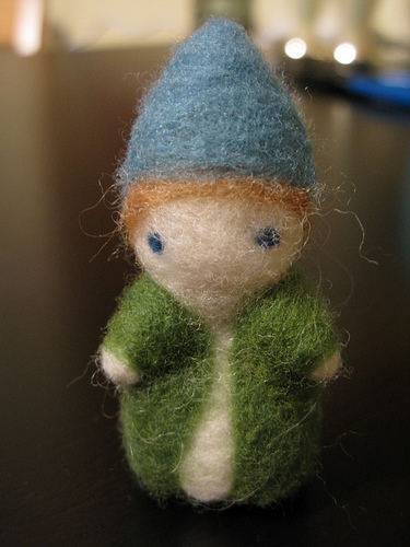 Needle Felting - Pollywog's Cakewalk, for Dabbled.org