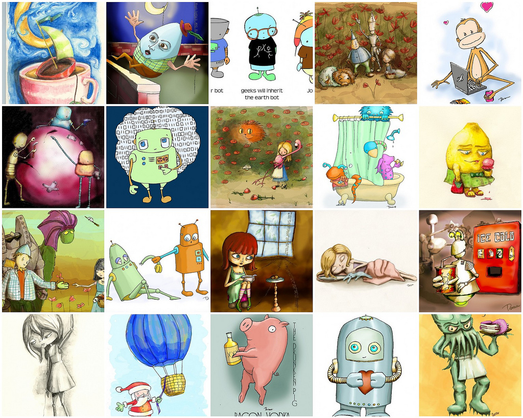 A selection of art from 2008
