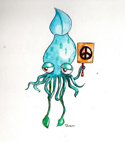 Cephalopods - Peace