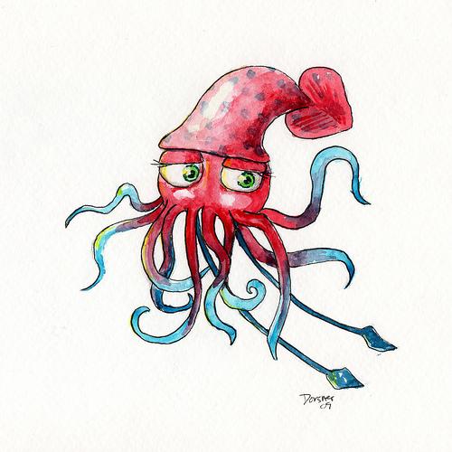 More squid love