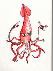 In Soviet Russia, Squid Eat YOU!