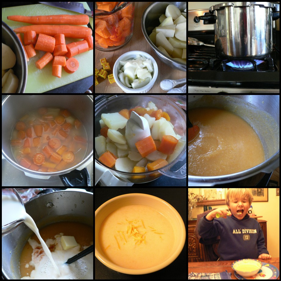 How to make an easy Carrot Vichyssoise