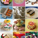 Faux Foods -- Yummies made of crochet, clay, felt, knit, etc