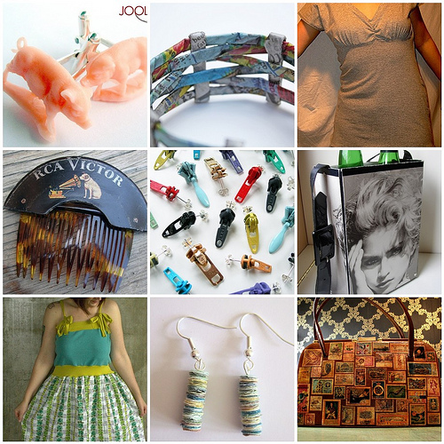 Think Green - Recycled Fashion from around Flickr