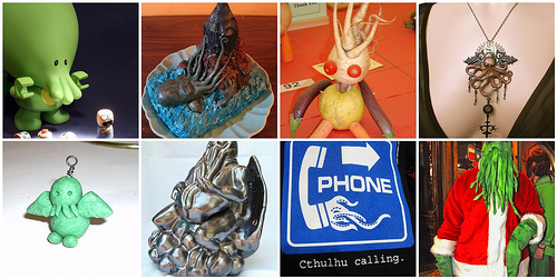 More Cthulhu Creations from around flickr